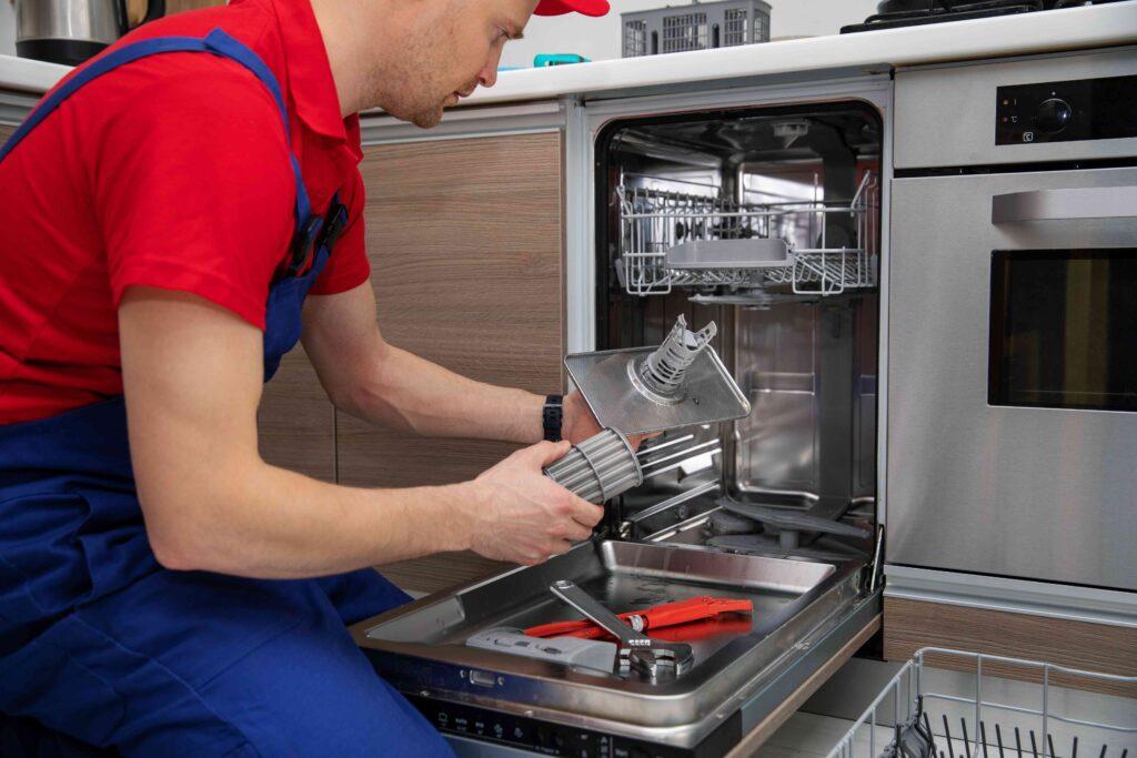 Nettoyage du filtre lave-vaisselle